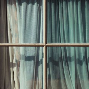 curtains - roman blinds