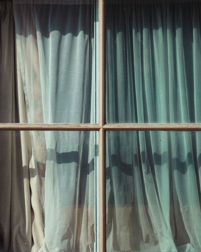curtains - roman blinds