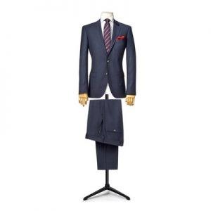 suit 2 pieces linen / silk