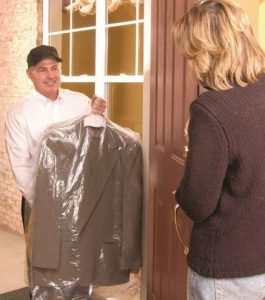 Delivery dry cleaners